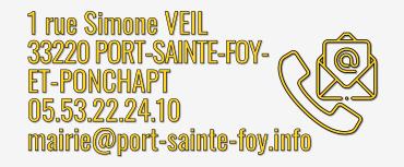 Contact Mairie - Adresse, téléphone, e-mail