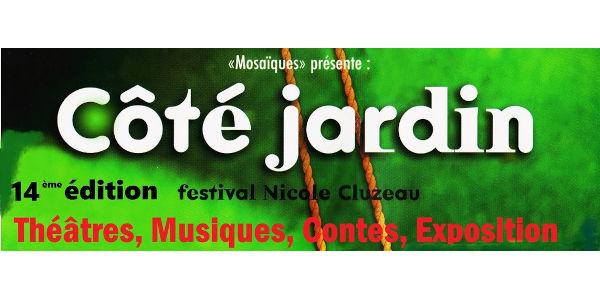 Mosaïques ''Festival Côté Jardin'' 600x300