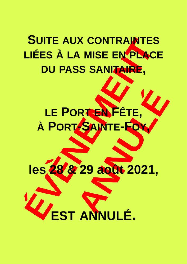 Le Port en Fête 2021